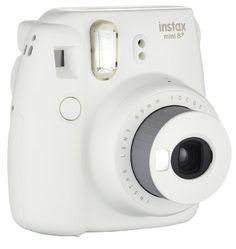 Amazon.com : Fujifilm Instax Mini 8+ (Vanilla) Instant Film Camera + Self Shot Mirror for Selfie Use - International Version (No Warranty) : Camera & Photo