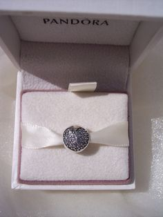 Authentic Pandora Love Of My Life Clear CZ Clip by JEWELSELAGANT, $40.00
