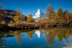 Matterhorn, Cervin the most beautiful Mountain in the World. Workshop in this region next autumn, check www. The One, Golf Courses, Most Beautiful, Mountains, World, Nature, Travel, Naturaleza, Viajes