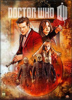 Doctor Who s07e08 poster by gazzatrek.deviantart.com on @deviantART