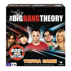The Big Bang Theory Trivia Game by Cardinal, Multicolor
