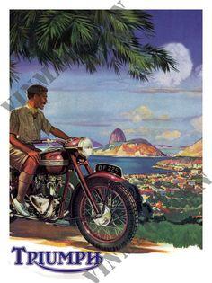 Motorcycle Ad - Triumph