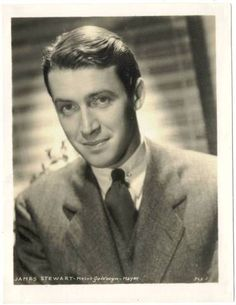 Jimmy Stewart. Great actor and it was hard to resist his boyish charm.