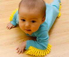 Baby Mop Onesie | DudeIWantThat.com