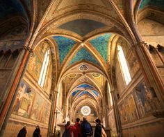 Europe's most-visited tourist attractions: No. 15 Basilica of St. Francis of Assisi, Assisi, Italy