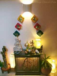 Design Decor & Disha: Indian Home Decor, Wall Planters, Brass, Brass Decor, Console table