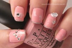 LOVE THIS!!! Midnight Manicures: It's So Easy Nail Art - Baby Girl Mani