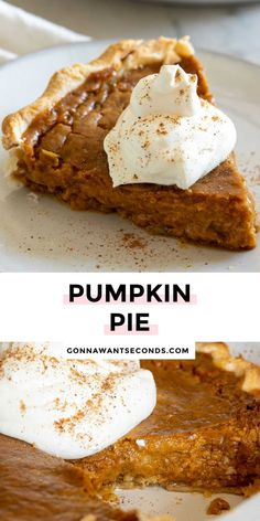 *NEW* This easy pumpkin pie with evaporated milk recipe has a rich velvety consistency chock full of warm fall spices and subtly sweet hues that beckon to taste buds near and far. #pumpkinpie #pierecipes #dessertrecipes #sweetpies Easy Pumpkin Pie, Pumpkin Pie Recipes, Milk Recipes, Dessert Recipes, Desserts, Delicious Deserts, Evaporated Milk, Chock Full, Deep Dish