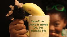 """Dr. Oz had an episode for natural remedies for insomnia. Banana tea was mentioned and I thought I would do a taste test to see if I would """"Love it, or leave ..."""