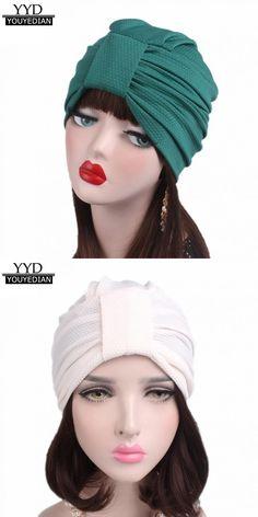 b3d83eebd51 Autumn winter women cotton cancer chemo hat beanies scarf turban head wrap caps  hats for women