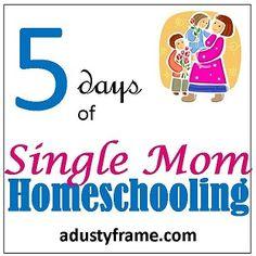 Single mom Homeschooling advice