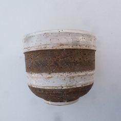 Art Pottery Vase  Italian Cache Pot  Mid Century by WantedNS, $34.00