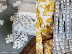 Gray and Yellow Office Details. Lindy Allen of Four Chairs Furniture and Cadence Homes photographed by hiya papaya