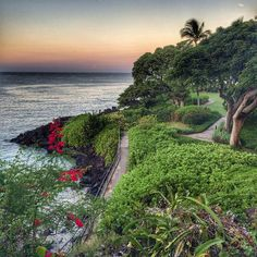 Morning sunrise from the Mauna Kea Resort on the Big Island. Photo courtesy of eachapman4 on Instagram.