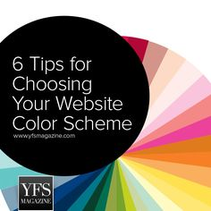 Color Psychology: 6 Tips for Choosing Your Website Color Scheme #smallbiz #startups