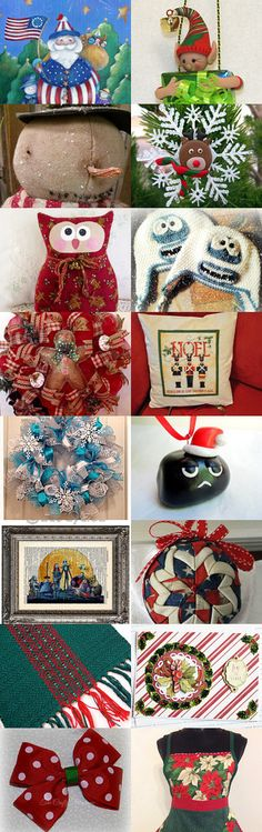Christmas in July by Karen Duke on Etsy--Pinned with TreasuryPin.com