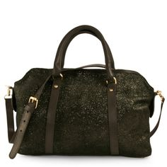 SAC C-Oui VINCENNES 6 IRISE NOIR - Grand sac cuir pailleté #bags #sacs…
