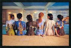 Pink Floyd Back Catalog Framed Photographic Print