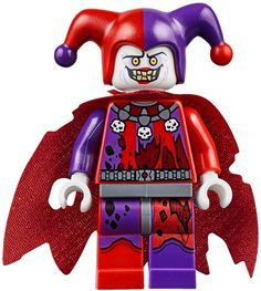 Jestro, the most Evil of them all in the cool Lego Theme Nexo Knights: https://www.olgo.nl/lego/lego-nexo-knights.html