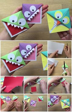 Monster-and-Owl-Bookmarks-Tutorial