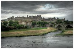 Dive into the mysterious midieval town Carcassonne, France