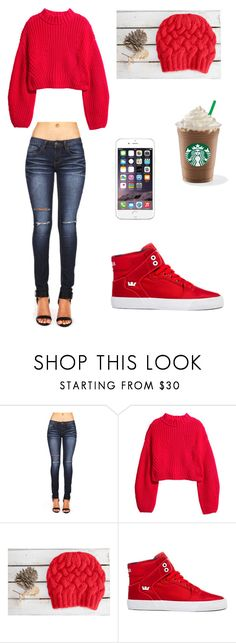 """""""Girls' Day Out in the Fall!:)"""" by rorschachsjournal ❤ liked on Polyvore featuring H&M and Supra"""