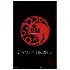 Game of Thrones House Targaryen Poster [11x17] - $7.99