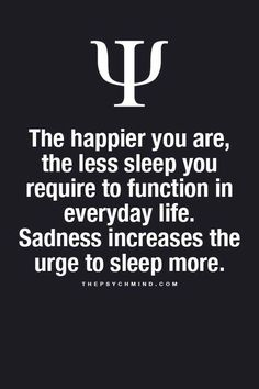 Now I know why I love sleep so much