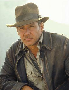 Indiana Jones (Harrison Ford) rocked the adventure getup. Geology-wear inspiration!