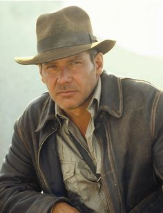 Indiana Jones (Harrison Ford) rocked the adventure getup. Geology-wear inspiration!
