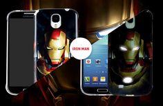 Samsung Galaxy S4 NFC ile Telefonunuza tepki vererek yanan Ironman kılıfları remeto.com.tr'de #samsung #anymode #ironman #cover #isiklikilif #kilif