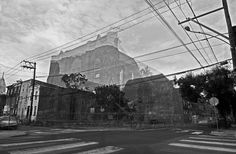 Ghostly Buildings Created by Combining Before and After Photos of Demolitions