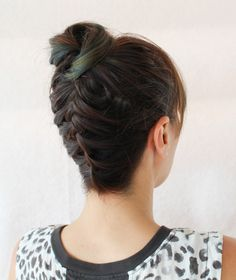 Braided Top Knot Tut