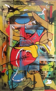 I didn't forget her, schilderij van Chrizys Art, Christian van Hedel | Abstract | Modern | Kunst