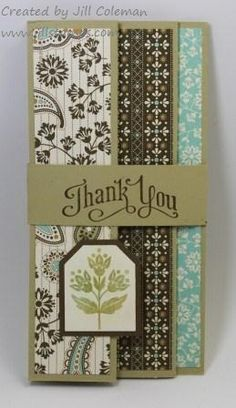 Day of Gratitude Accordion Fold Card by jillastamps - Cards and Paper Crafts at Splitcoaststampers