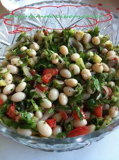Taze Barbunya Salatası