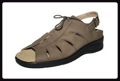 Theresia Muck - Hella Damen Schuhe Sandalen 65562-004-712, Grün (khaki), EU 36 (UK 3.5), Weite H - Sandalen für frauen (*Partner-Link)