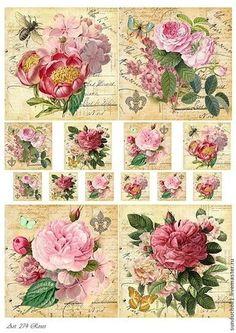 1 envase 20 servilletas rosario rosas Rose Roses toda motivo paquete Flores