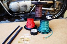 Motorcycle wiring: Choosing the right wire.