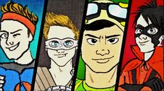 "5 Seconds Of Summer ""Don't Stop"" Comic Book Lyric Video"