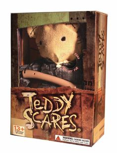 Teddy Scares - REDMOND GORE - LIMITED COLLECTORS EDITION 12IN TEDDY SCARES, $24.95 (http://www.teddyscares.com/redmond-gore-limited-collectors-edition-12in-teddy-scares/)