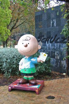 The Peanuts Museum in Santa Rosa, California