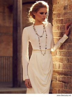 Chanel white dress
