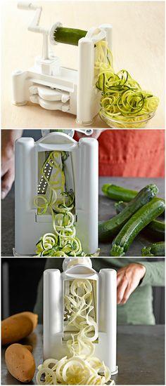 Spiralizer- my FAVORITE kitchen gadget!  best $40 I ever spent!