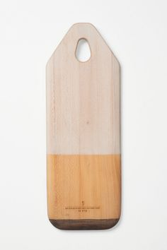 Colorblocked Bread Board - Anthropologie.com