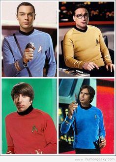 The Big Bang Trek.