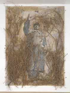 Anselm Kiefer, 'Let a Thousand Flowers Bloom' 2000,  Kiefer travelled in China in 1993, and some years later made a series of paintings based on photographs taken there. The title refers to a 1957 speech in which