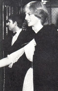 1981-11-25 Charles, Diana and Andrew at the Royal Opera House, Covent Garden