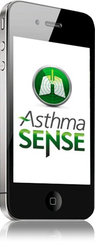 AsthmaSense, the world's most intelligent asthma smartphone app puts the power of monitoring and management in the palm of your hand. Learn more at SoundAsthma.com.