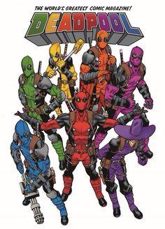 Deadpool Rainbow Squad cover